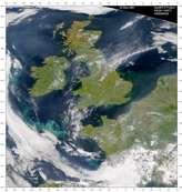 SeaWiFS: Phytoplankton Blooms in the United Kingdom and Ireland - selected image