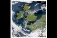 SeaWiFS: Phytoplankton Blooms in the United Kingdom and Ireland