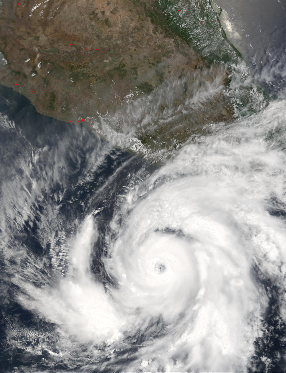 Hurricane Adolph off the coast of Mexico - related image preview