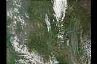 Fires in the Krasnoyarsk and Irkutsk regions, Russia