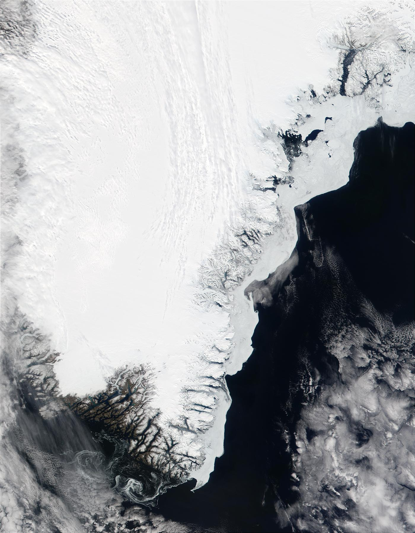 Southern tip of Greenland - related image preview