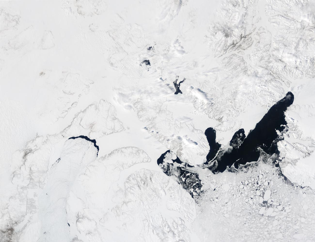 Northernmost Canada and Baffin Bay - related image preview