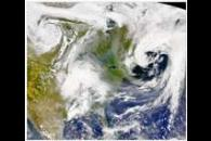 SeaWiFS: Alberta Smoke over Eastern North America