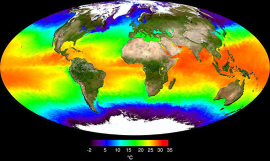 Surface Reflectance and Ocean Temperature - related image preview