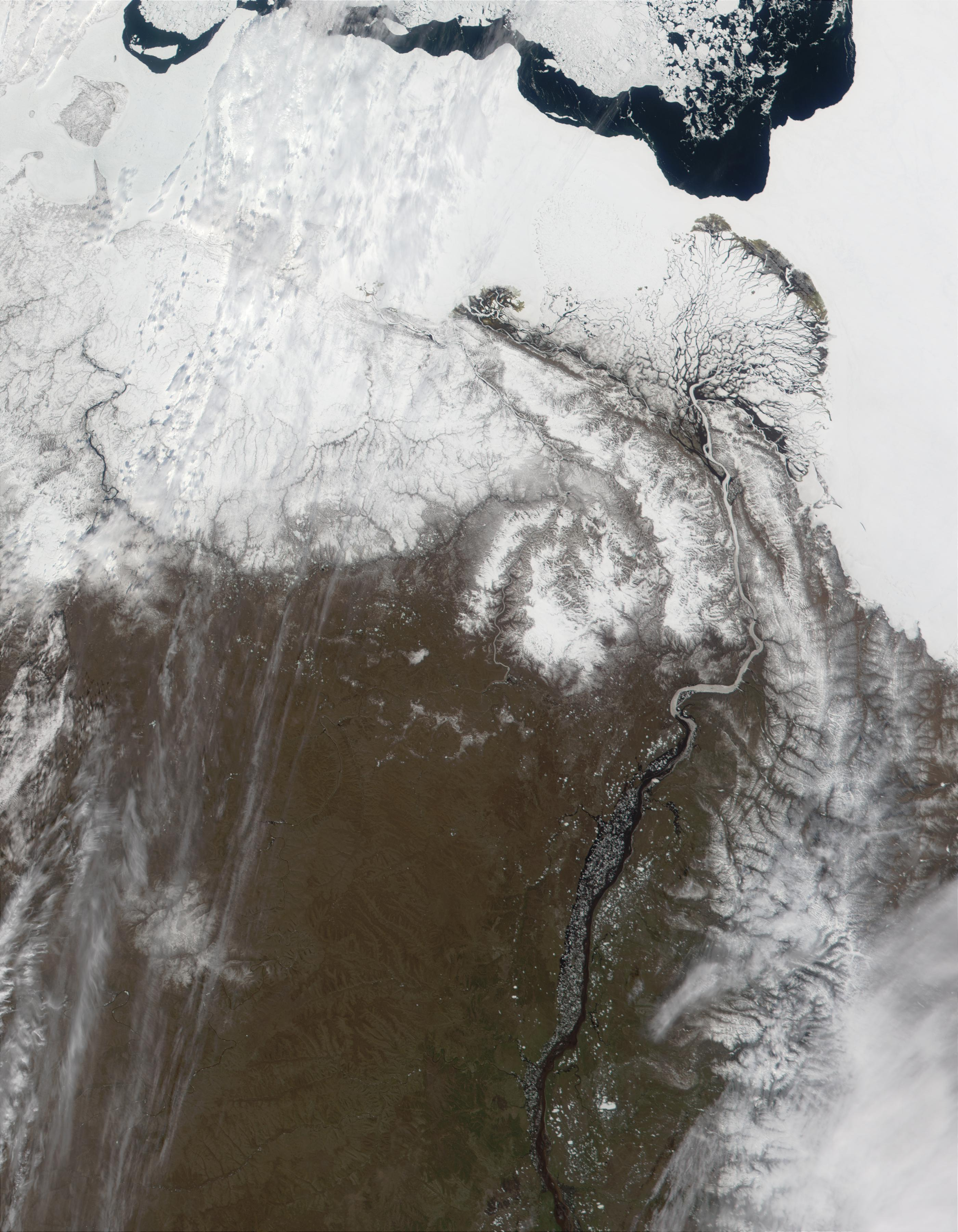 Delta of the Lena River, Russia - related image preview