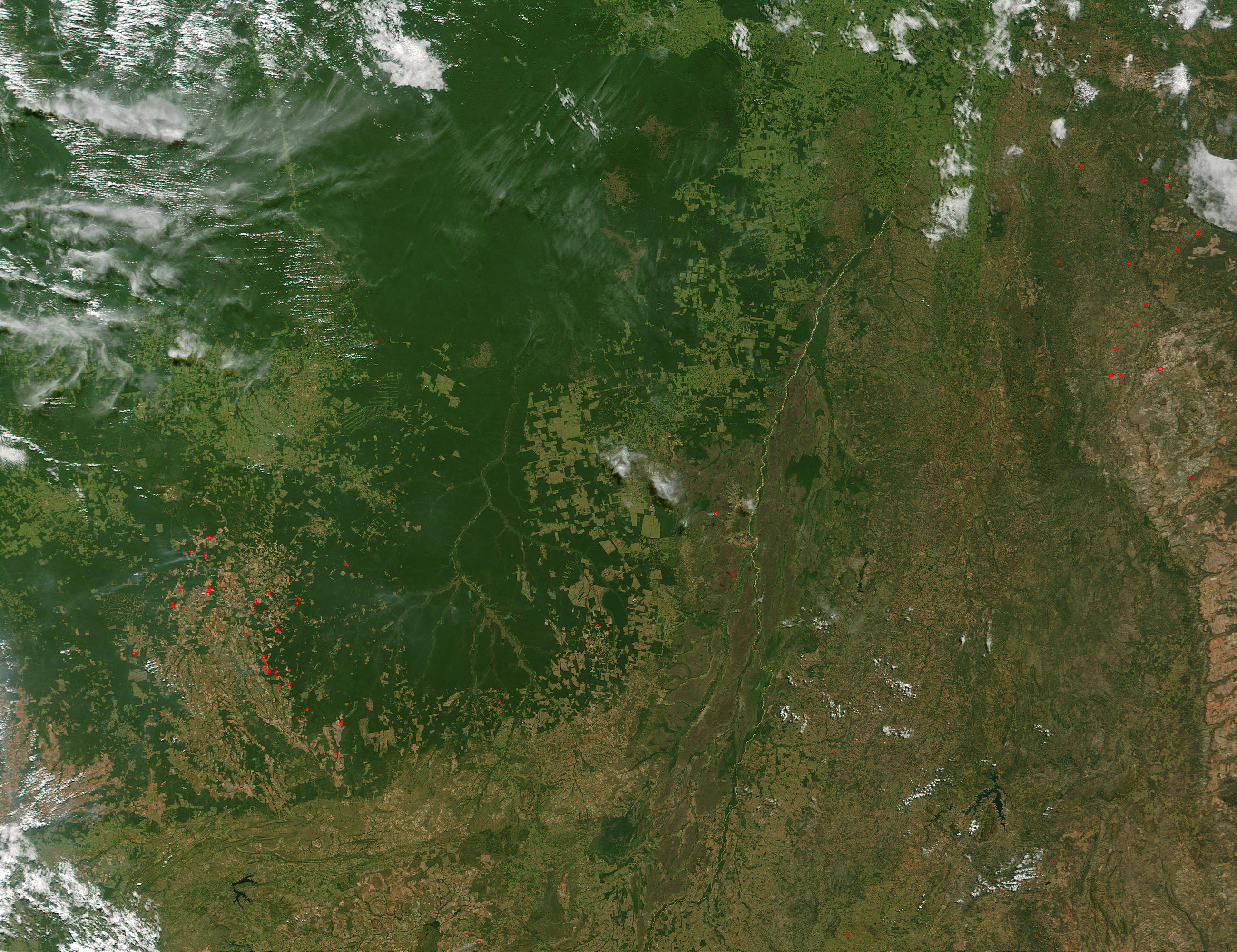 Mato Grosso, Tocantins, and Goias regions, Brazil - related image preview