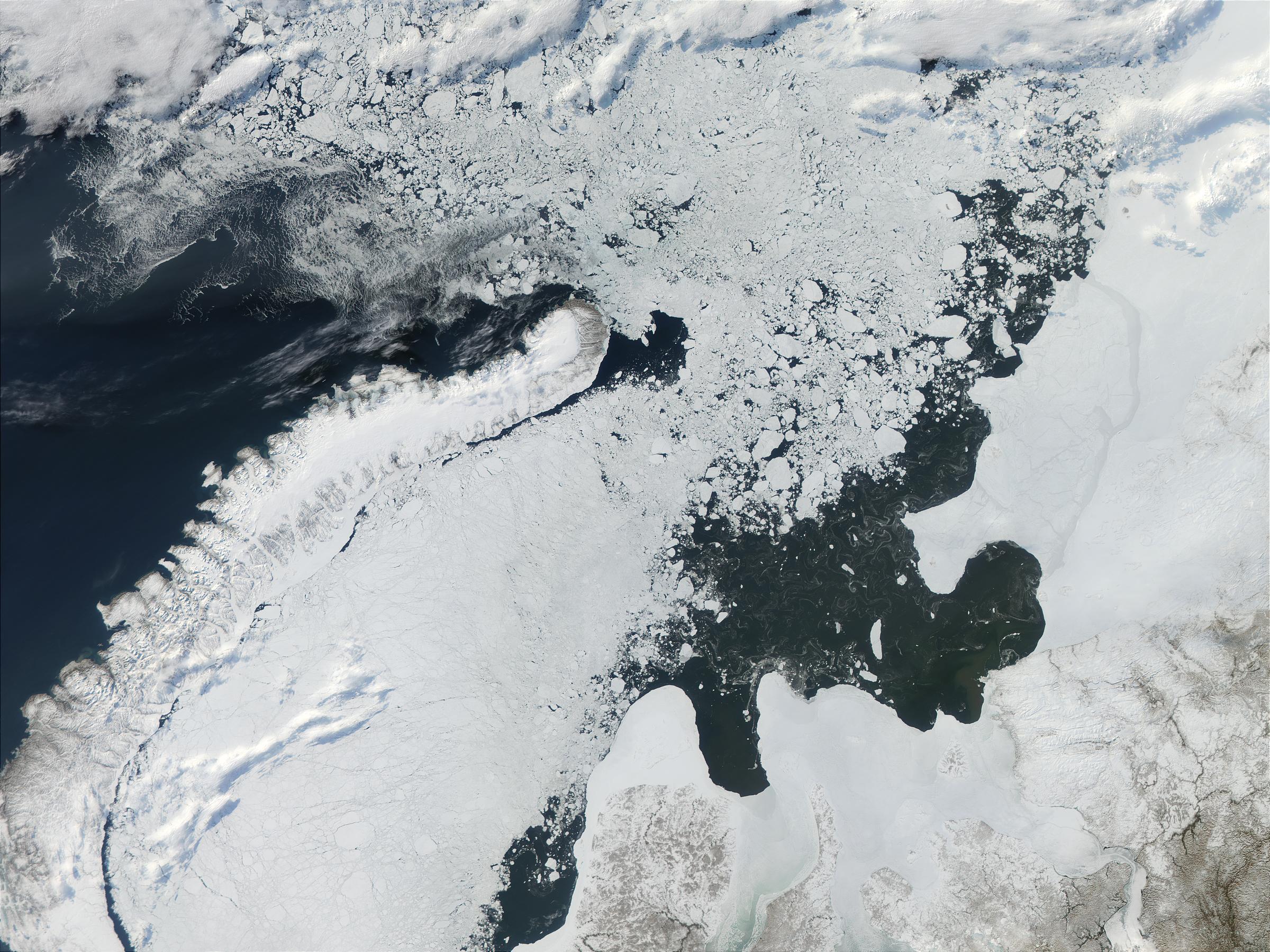 Novaya Zemlya and Kara Sea, Russia - related image preview