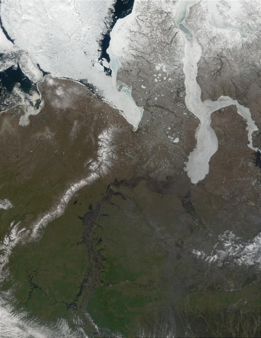 Mouth of the Ob River, Russia - related image preview