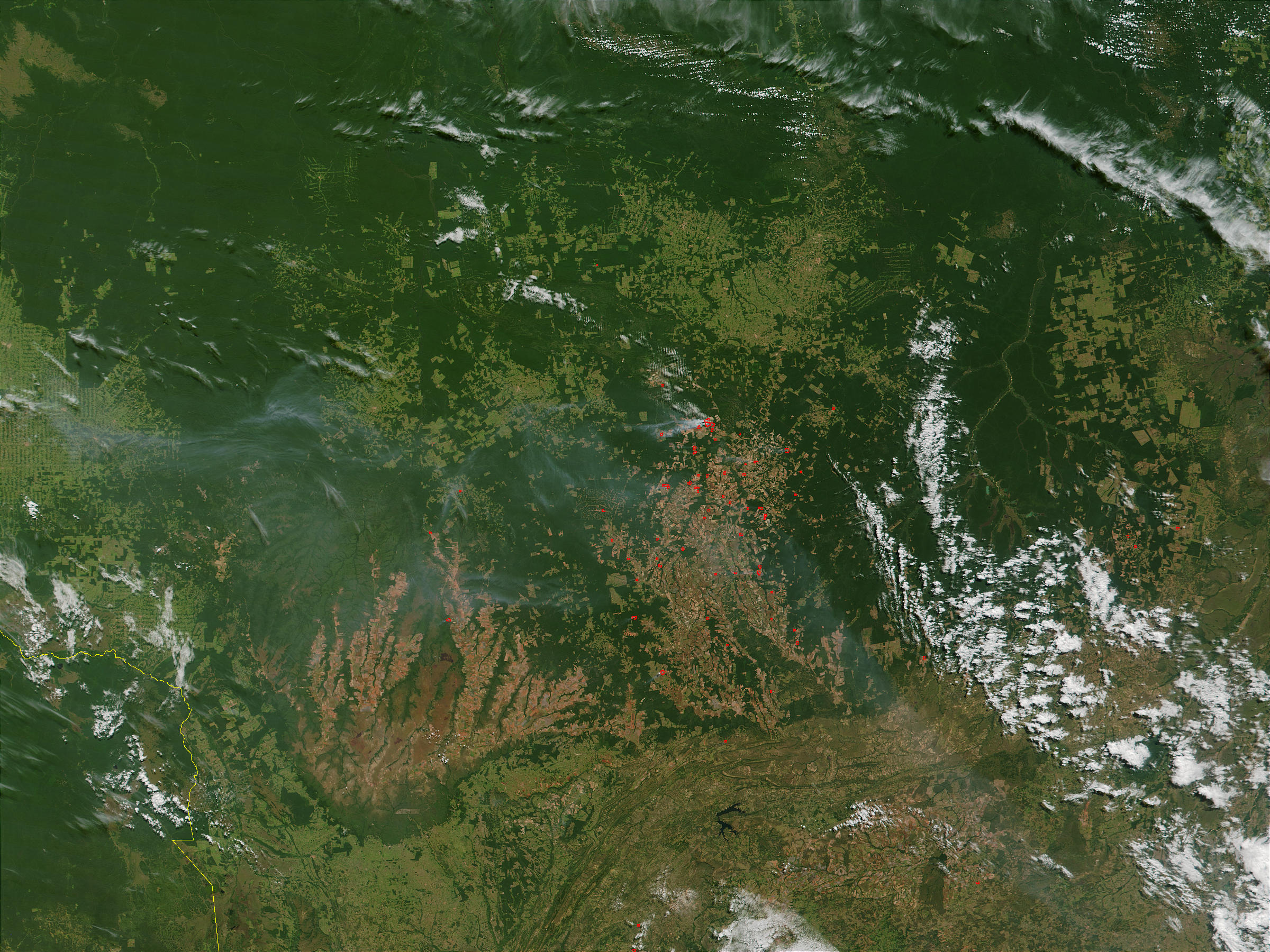 Fires in Mato Grosso region, Brazil - related image preview
