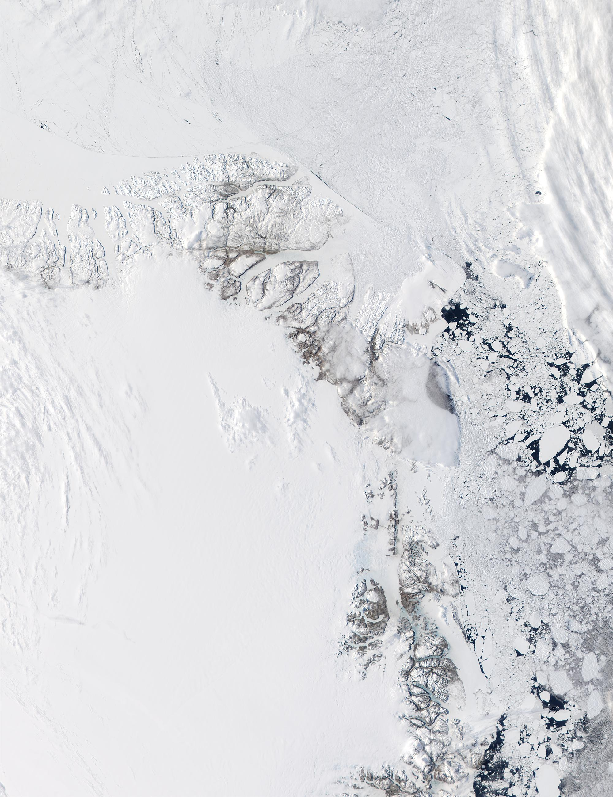 Northeast coast of Greenland - related image preview