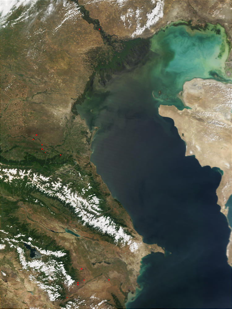 Volga Delta and Caspian Sea - related image preview