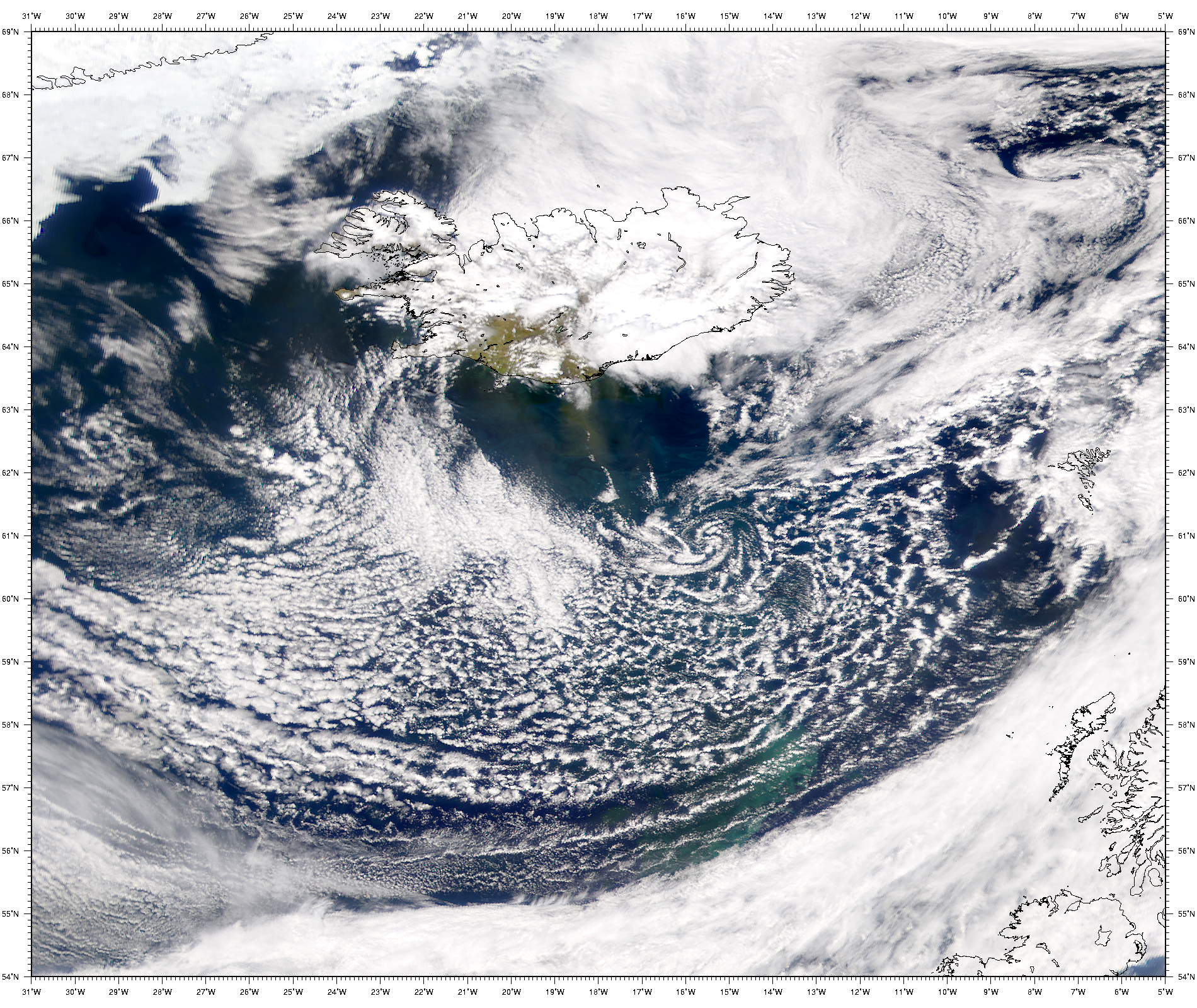 SeaWiFS: Dust from Iceland - related image preview