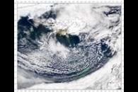 SeaWiFS: Dust from Iceland