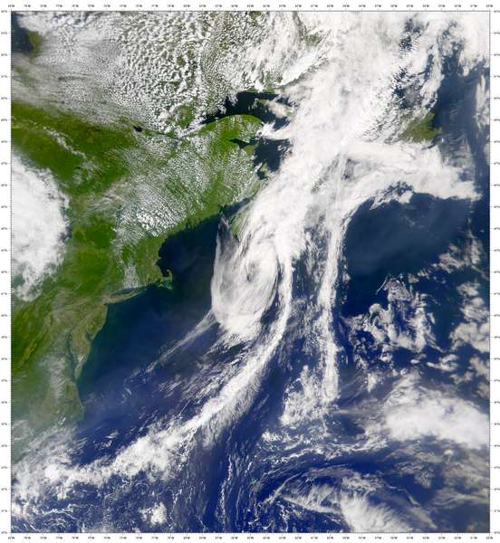 SeaWiFS: Remains of Tropical Storm Allison - related image preview