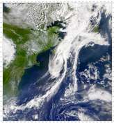 SeaWiFS: Remains of Tropical Storm Allison - selected image