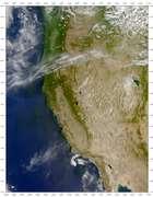 SeaWiFS: Sierra Nevada Forest Fire - selected image