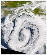 SeaWiFS: Low-Pressure System over the Gulf of Alaska - selected child image