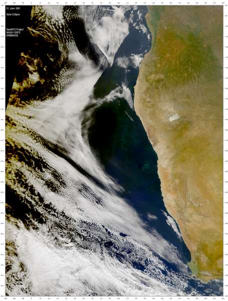 SeaWiFS: Solar Eclipse over the South Atlantic - related image preview