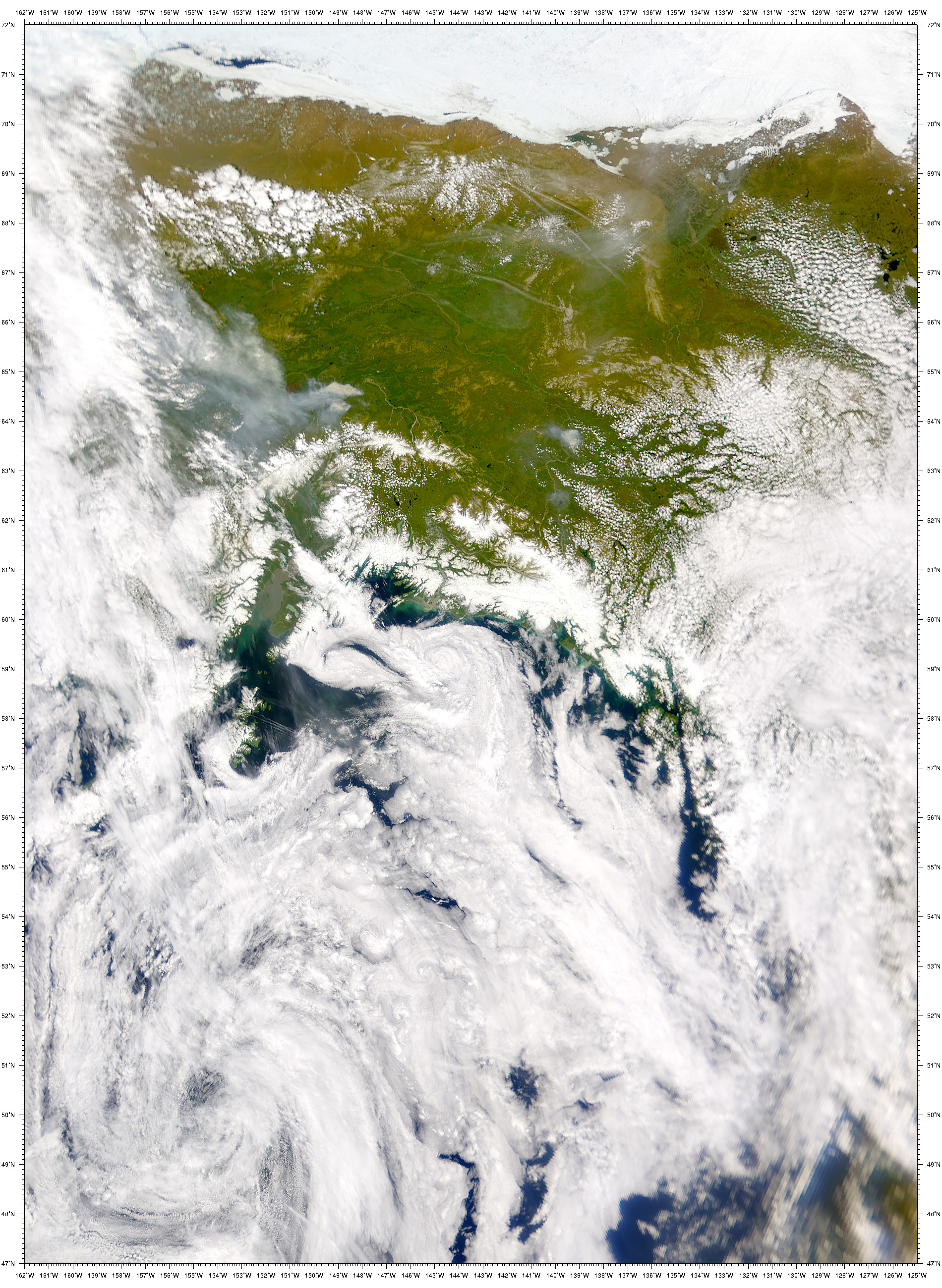 Forest Fires near Fairbanks, AK - related image preview