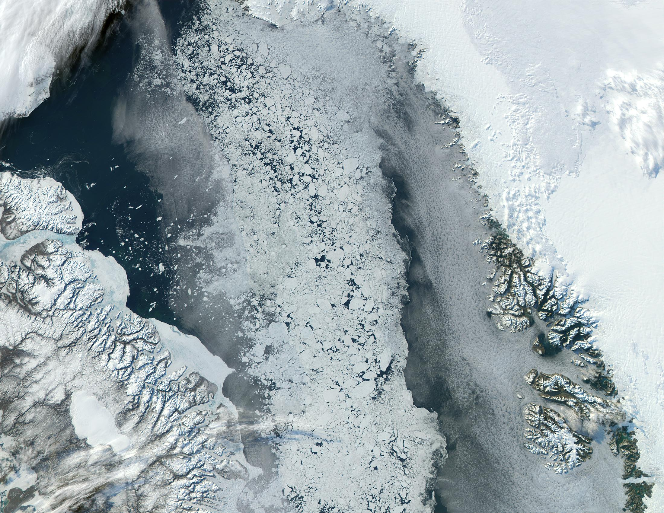 Baffin Bay, North Canada - related image preview