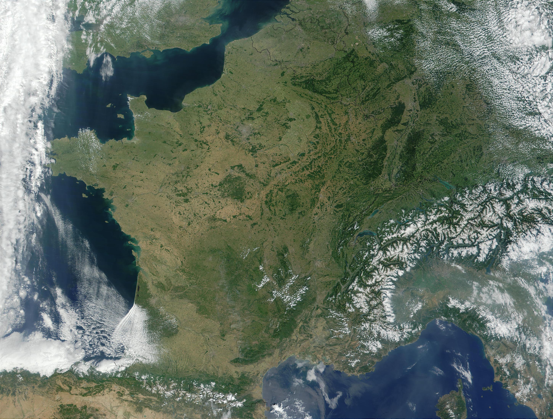 NASA Visible Earth: France