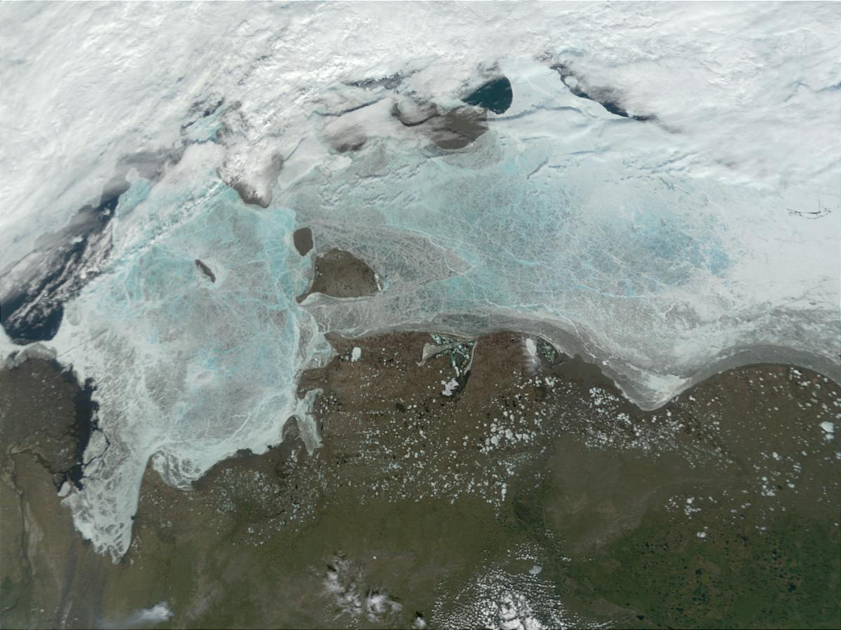 Coast of East Siberian Sea and Laptev Sea - related image preview