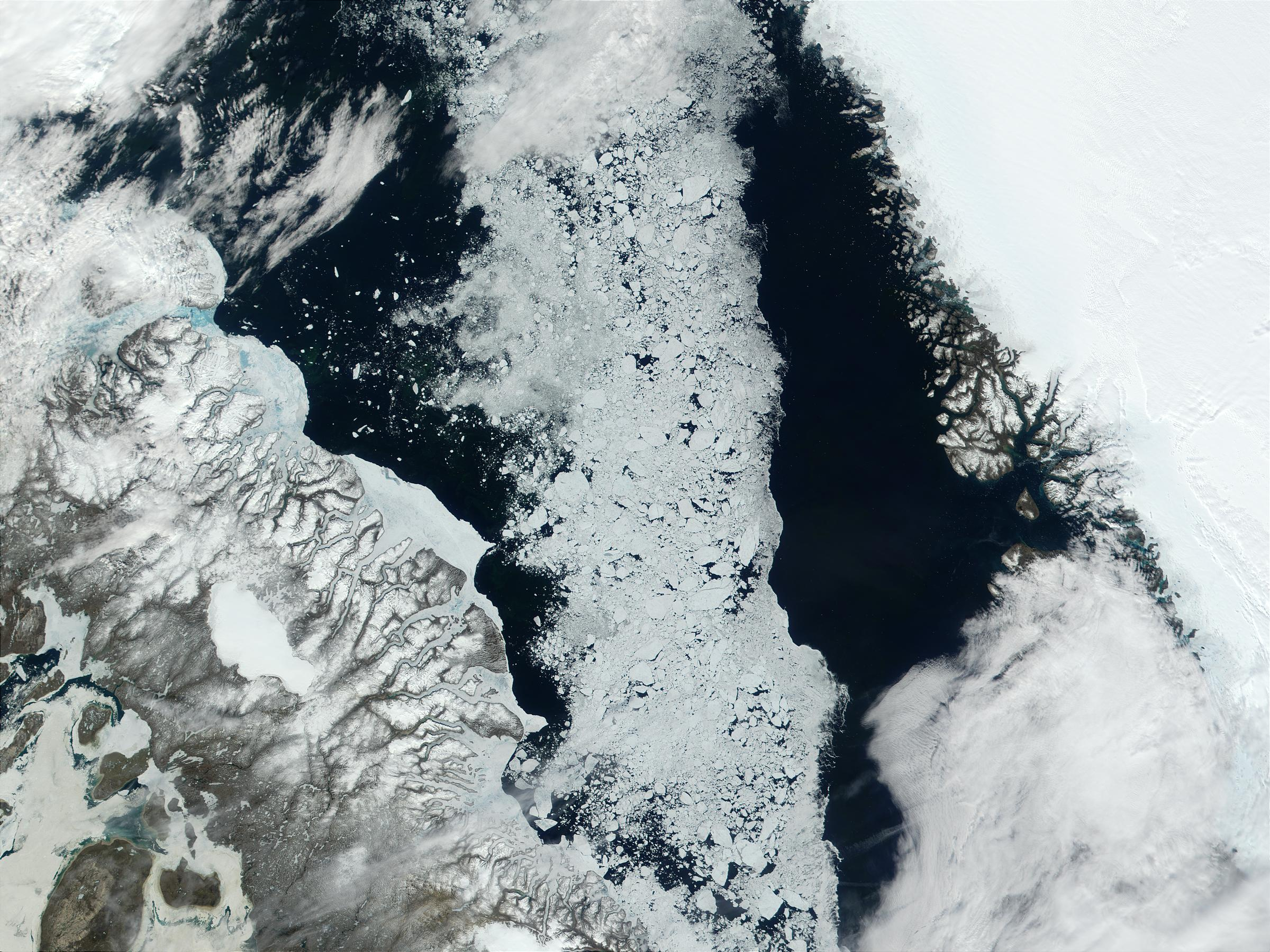 Baffin Bay, Northern Canada - related image preview