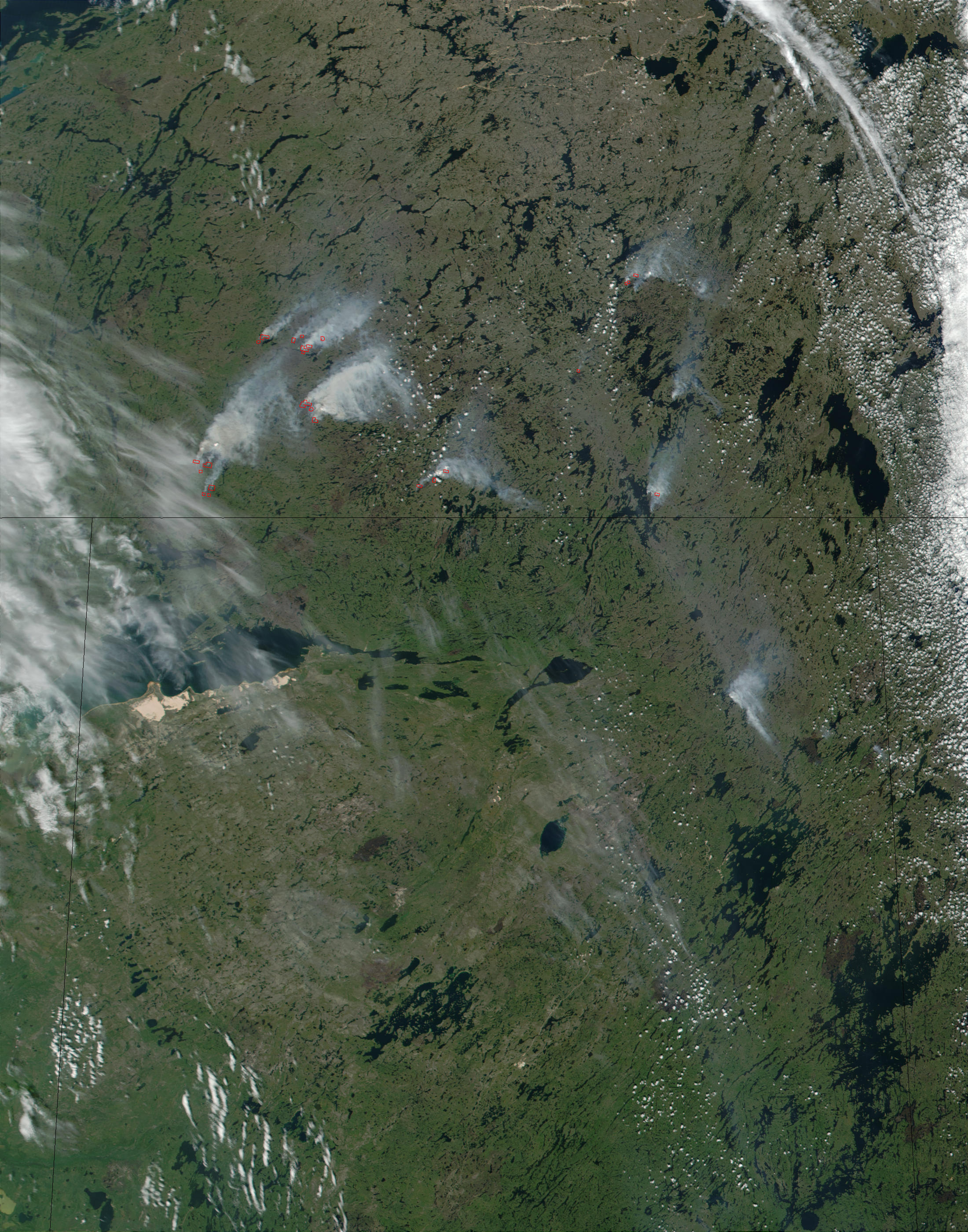 Fires in Northwest Territories, Canada - related image preview