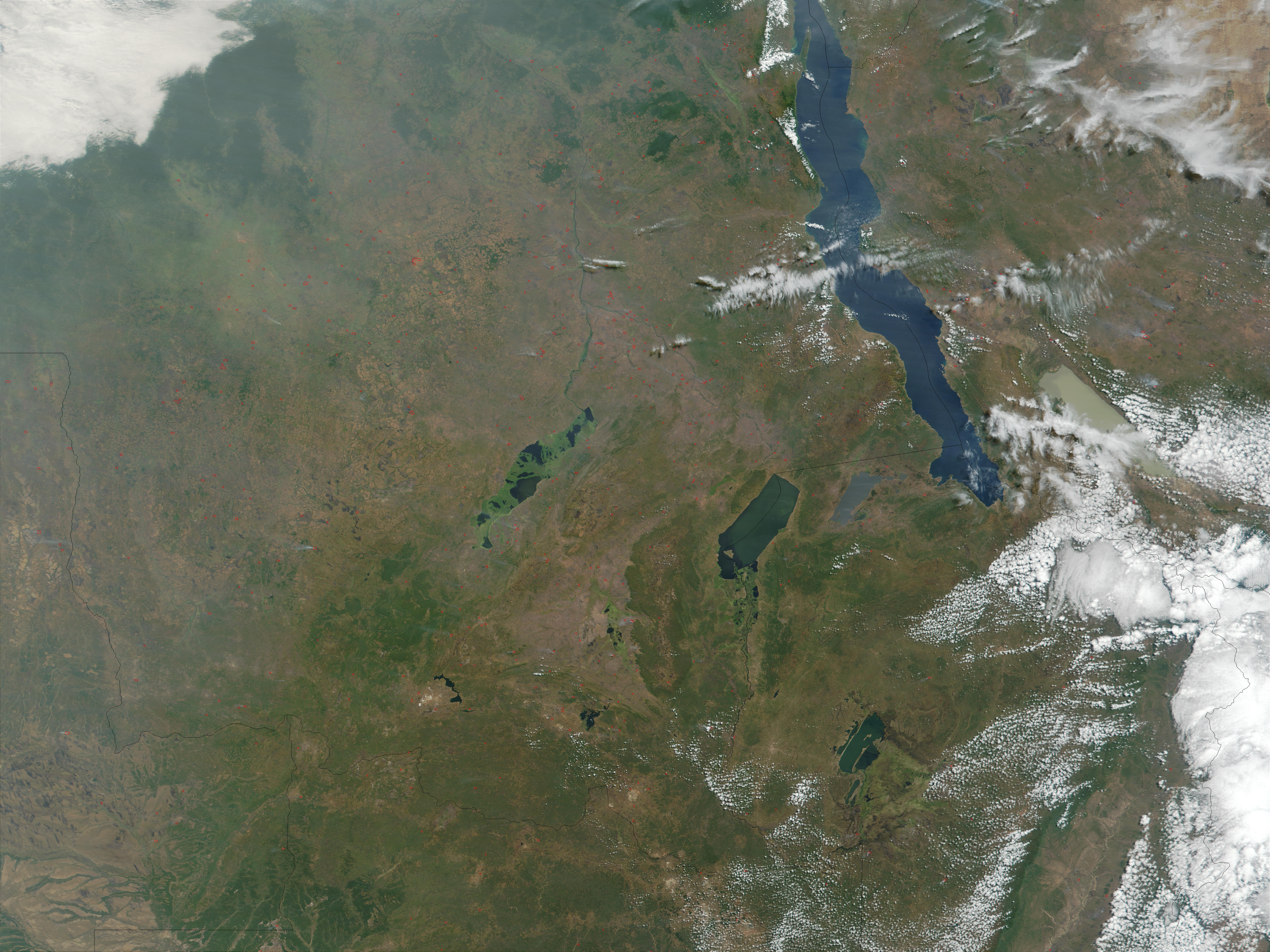 Fires in Democratic Republic of the Congo, Tanzania, Zambia, and Angola - related image preview