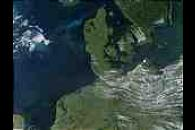 Phytoplankton bloom in North Sea and Baltic Sea