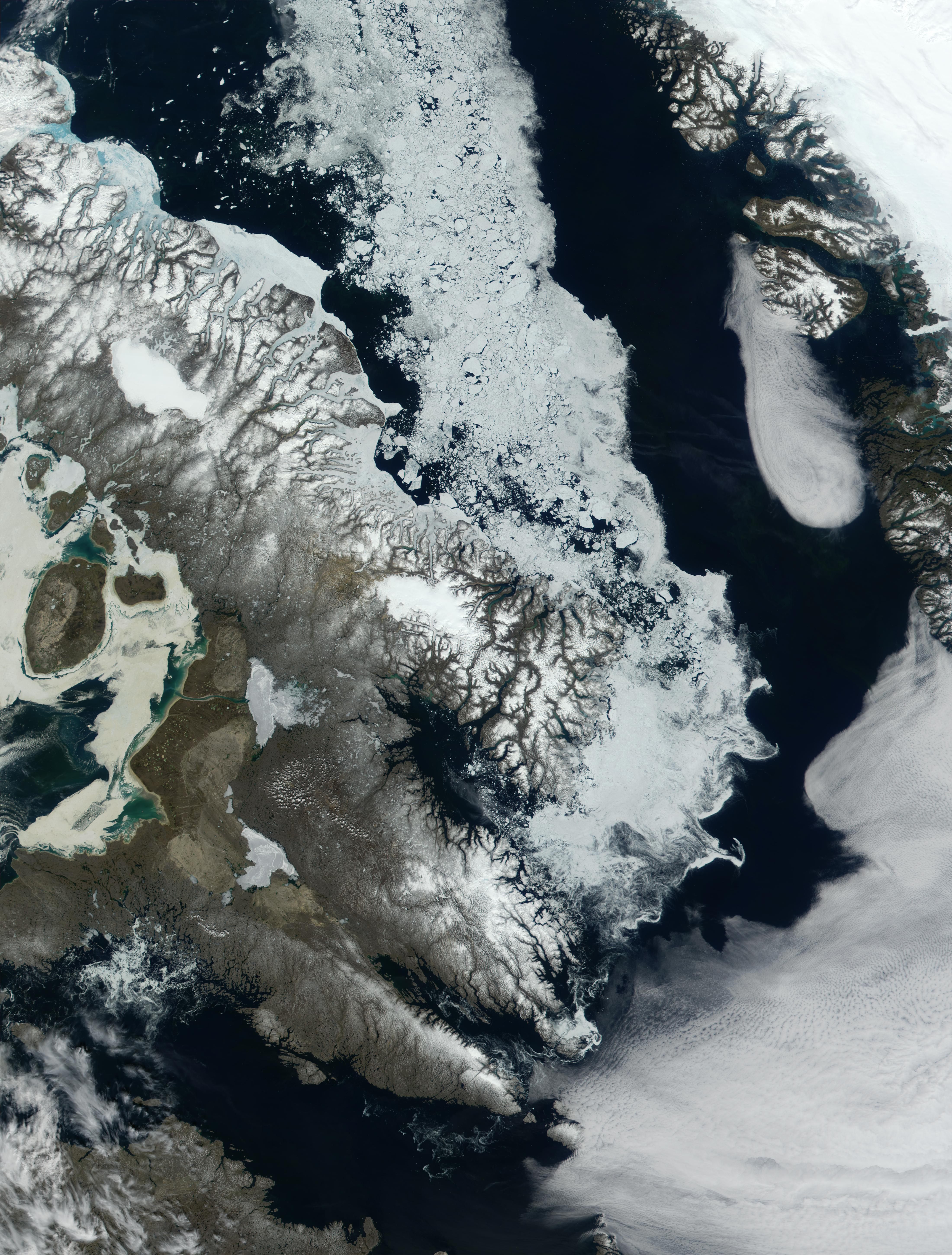 Baffin Bay and Baffin Island, North Canada - related image preview