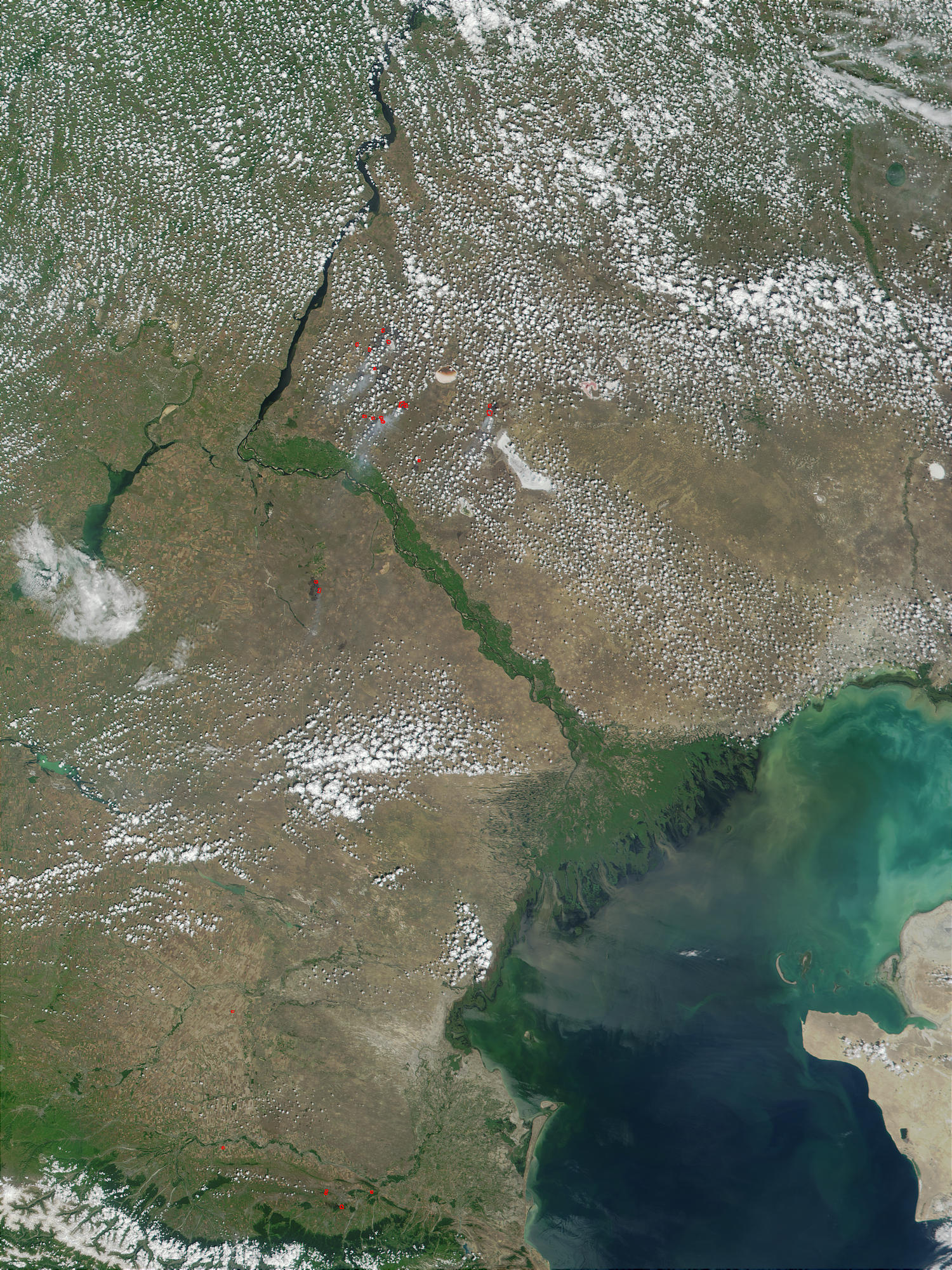 Volga Delta and Caspian Sea, Russia/Kazakhstan - related image preview