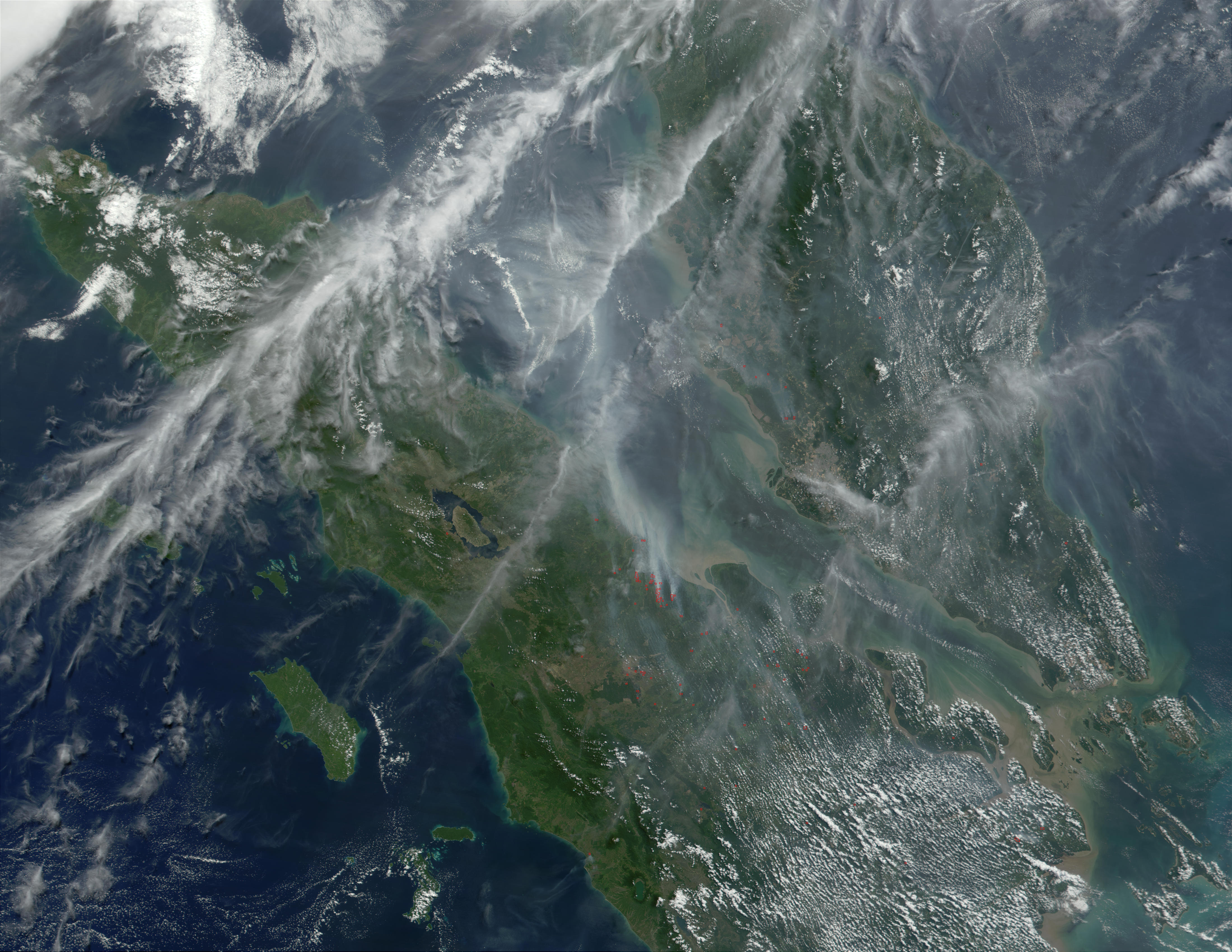 Haze over Malaysia - related image preview