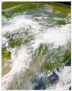 SeaWiFS: Blue-gray Aerosol over China - selected image