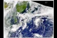 SeaWiFS: Western North Pacific Low, Northern China Smoke