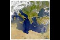 SeaWiFS: Hazy Eastern Mediterranean