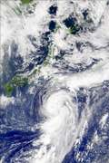 SeaWiFS: Typhoon Kong-Rey - selected image