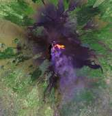 Zoom into Mount Etna - selected image