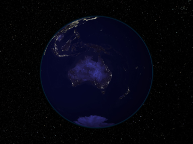 Light and Dark Image Pair: Australia and Oceania - related image preview