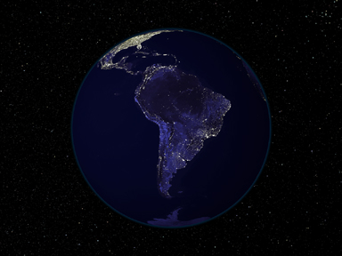 Light and Dark Image Pair: South America - related image preview