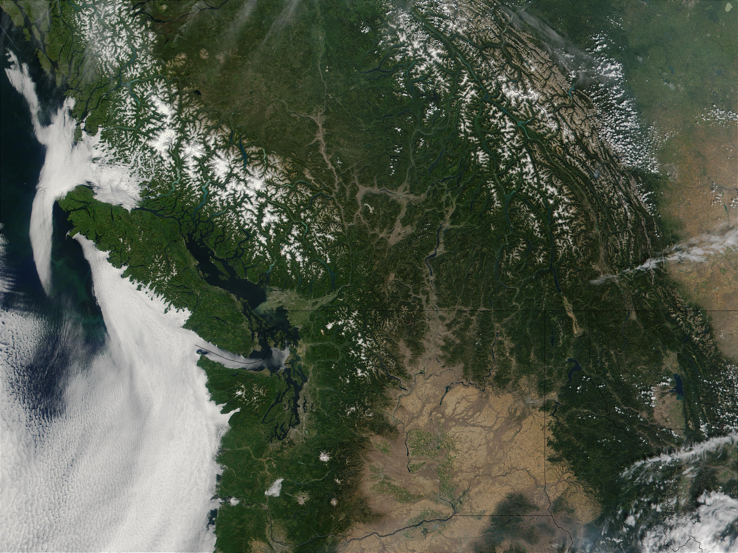 Washington State and Southern British Columbia - related image preview