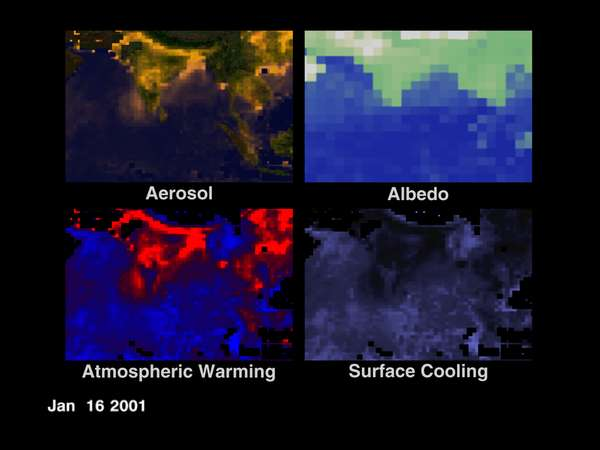 Effects of Aerosols over the Indian Ocean - related image preview