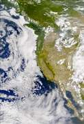 SeaWiFS: Smoke in the Western North America - selected image