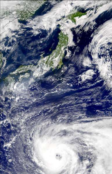 SeaWiFS: Typhoon Pabuk - related image preview