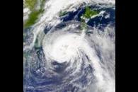 SeaWiFS: Typhoon Pabuk