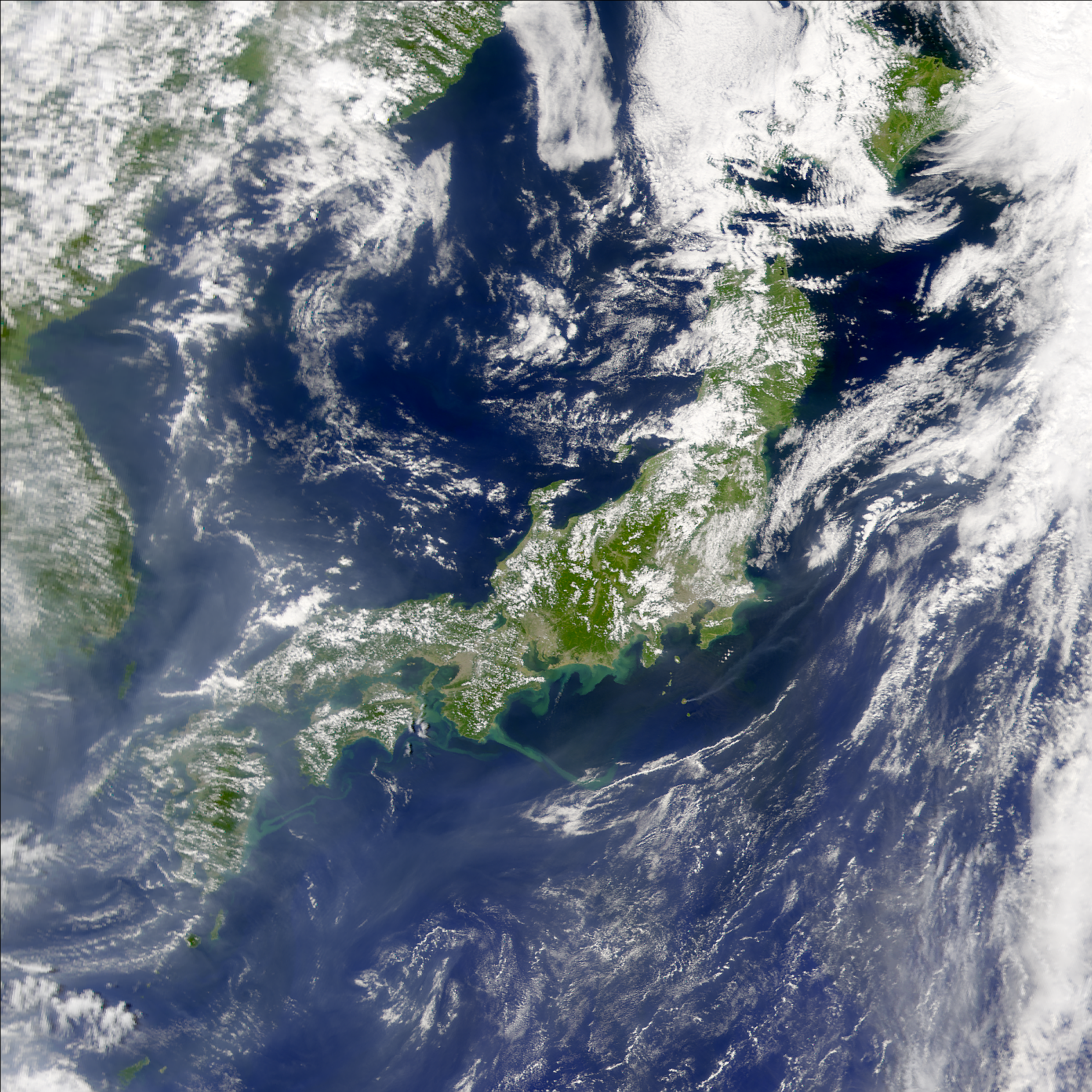 SeaWiFS: Typhoon Pabuk's Aftereffects - related image preview
