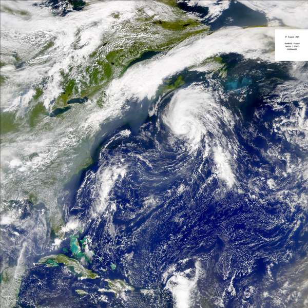 SeaWiFS: Tropical Storm Dean - related image preview
