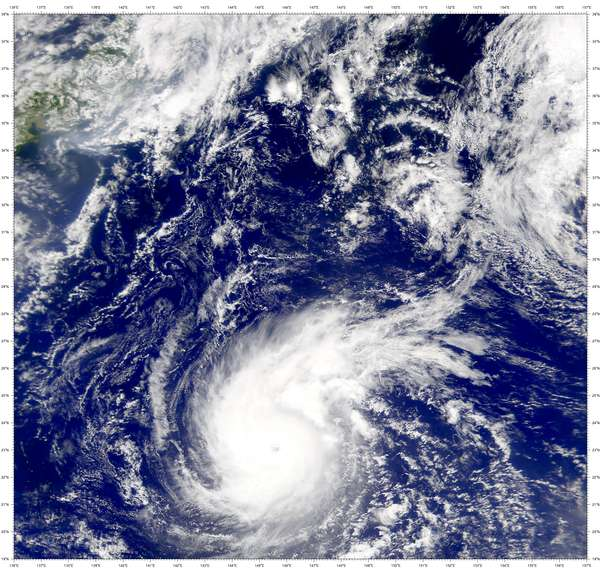 SeaWiFS: Super Typhoon Wutip - related image preview