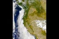 SeaWiFS: Western U.S. Fires