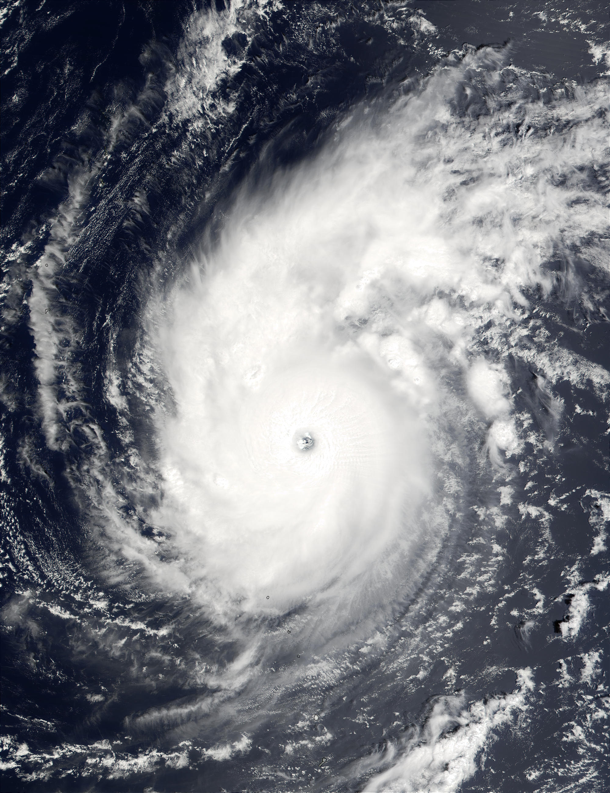 Typhoon Wutip (16W) north of Mariana Islands, North Pacific Ocean - related image preview